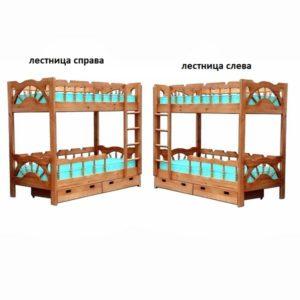 Двух ярусная кровать Адмирал
