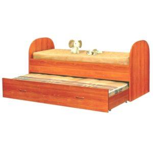 Выкатная кровать Саша 2-х ярусная