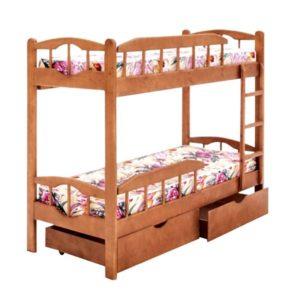 Кровать Ника (двух ярусная)