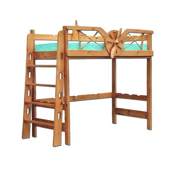Кровать Самолёт (чердак)
