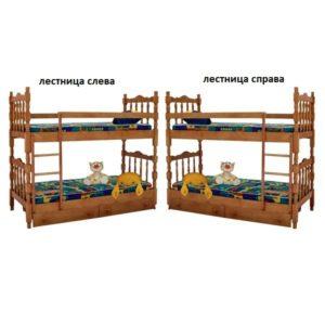 Кровать Шрек-2 (двух ярусная)