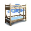 Кровать Штиль (двух ярусная)
