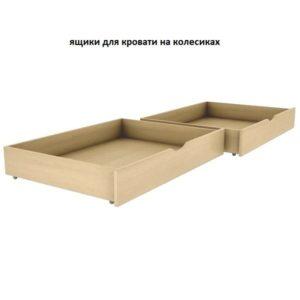 Ящики для кровати на колесиках