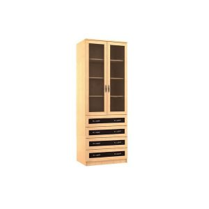 Шкаф для книг Норд-4